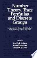 Number Theory  Trace Formulas and Discrete Groups