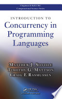 Introduction To Concurrency In Programming Languages