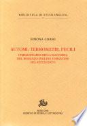 Automi  termometri  fucili  L immaginario della macchina nel romanzo inglese e francese del Settecento