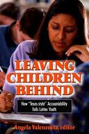 Leaving Children Behind