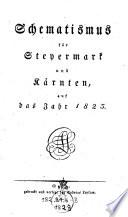 Schematismus für Steyermark