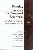 Relating Resources to Personnel Readiness