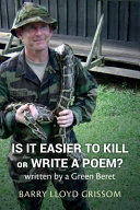 Is It Easier to Kill Or Write a Poem