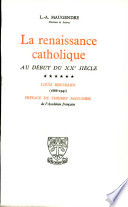 la renaissance catholique