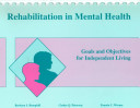Rehabilitation in Mental Health