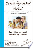 Catholic High School Entrance Test Review  Complete HSPT  TACHS and COOP Study Gudie and Practice Test Questions