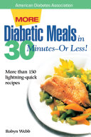 More Diabetic Meals In 30 Minutes Or Less