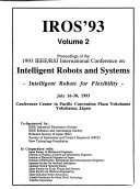 1993 IEEE RSJ International Conference on Intelligent Robots and Systems