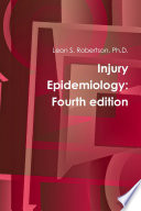 Injury Epidemiology  Fourth edition