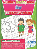Number Tracing Book For Preschoolers And Kids Ages 3 5 Lots Of Fun Number Tracing Practice