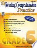 Reading Comprehension Practice  Grade 6