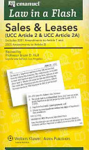 Sales UCC Article 2