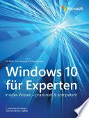 Windows 10 f  r Experten