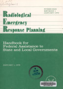 Radiological Emergency Response Planning book