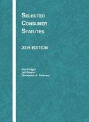 Selected Consumer Statutes