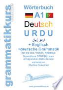 W  rterbuch Deutsch   Urdu   Englisch Niveau A1