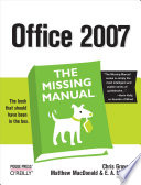 Office 2007 The Missing Manual