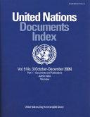download ebook united nations documents index, october-december 2006 pdf epub