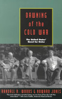 Dawning of the Cold War