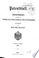 Patentblatt