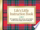 Life's Little Instruction Book : format, offering a new generation simple yet powerful...