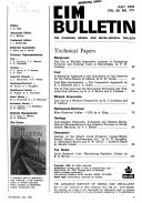 Quarterly Bulletin Of The Canadian Mining Institute