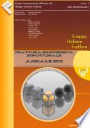 Frattura ed Integrit   Strutturale  Annals 2011
