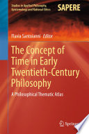 The Concept of Time in Early Twentieth Century Philosophy