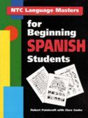 NTC Language Masters for Beginning Spanish Students