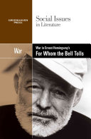 War In Ernest Hemingway S For Whom The Bell Tolls