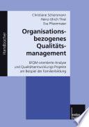 Organisationsbezogenes Qualitätsmanagement