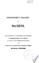 Shakspeare's Tragedy of Macbeth
