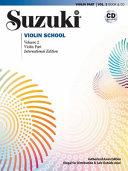 Suzuki Violin School Asian Edition