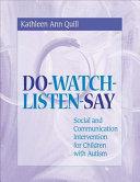 Do watch listen say