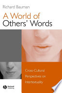 A World of Others  Words