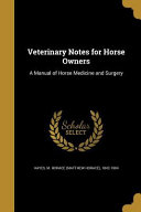 VETERINARY NOTES FOR HORSE OWN
