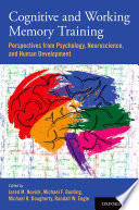 Cognitive And Working Memory Training