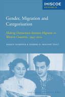 Gender  Migration and Categorisation