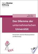 Das Dilemma der unternehmerischen Universität