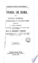 Historia de Roma  3  Desde la reuni  n de Italia Hasta la sumisi  n de Cartago y Grecia
