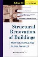Structural Renovation Of Buildings Methods Details Design Examples