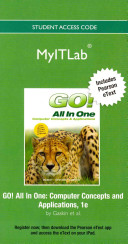 Myitlab with Pearson Etext    Access Code    For Go  All in One  Office 2010
