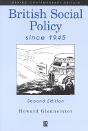 british social policy since 1945