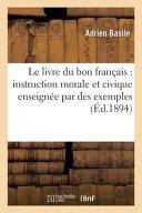 Le Livre Du Bon Francais