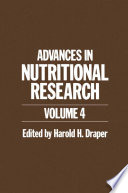 Advances In Nutritional Research book