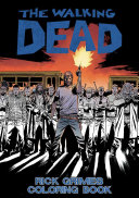 The Walking Dead  Rick Grimes Adult Coloring Book