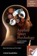 illustration du livre Applied Sport Psychology