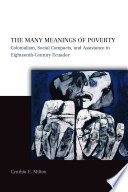 The Many Meanings of Poverty