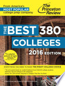 The Best 380 Colleges  2016 Edition