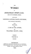 The Works Of Jonathan Swift Historical Tracts Political Poetry Poems Chiefly Relating To Irish Politics book